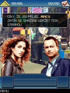 Download free game for mobile phone: CSI: New York. The mobile game - download mobile games for free.