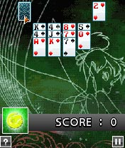 Jeu mobile Disney. Le Solitaire - captures d'écran. Gameplay Disney Solitaire Master.