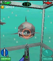 Jeu mobile Les Machoirs 3D - captures d'écran. Gameplay Jaws 3D.