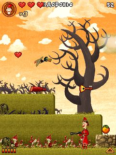 Download free game for mobile phone: About Fedot –Archer, a varmint fellow - download mobile games for free.