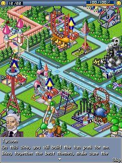 Download free mobile game: Fun Park Tycoon - download free games for mobile phone.
