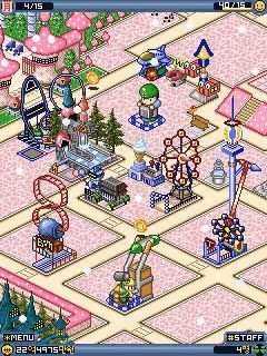 Mobile game Fun Park Tycoon - screenshots. Gameplay Fun Park Tycoon.