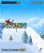 Download free mobile game: 3style Snowboarding - download free games for mobile phone.