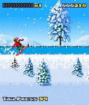Download free game for mobile phone: 3style Snowboarding - download mobile games for free.