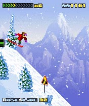 Mobile game 3style Snowboarding - screenshots. Gameplay 3style Snowboarding.