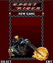 Download free mobile game: Ghost Rider - download free games for mobile phone.