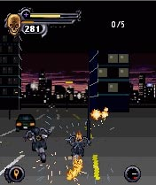 Download free game for mobile phone: Ghost Rider - download mobile games for free.