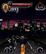 Mobile game Ghost Rider - screenshots. Gameplay Ghost Rider.