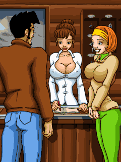 Download free game for mobile phone: Dirty Jack: Sех in a Sauna - download mobile games for free.