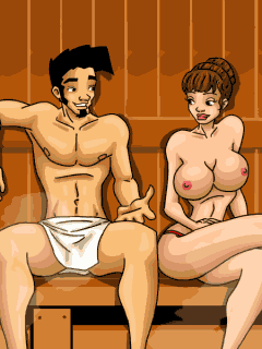 Mobile game Dirty Jack: Sех in a Sauna - screenshots. Gameplay Dirty Jack: Sех in a Sauna.