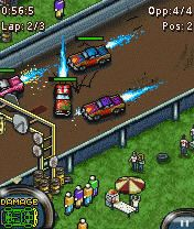 Download free game for mobile phone: Demolition Derby - download mobile games for free.