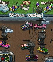 Mobile game Demolition Derby - screenshots. Gameplay Demolition Derby.