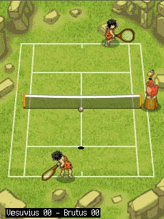 Download free mobile game: Jurassic Tennis - download free games for mobile phone.