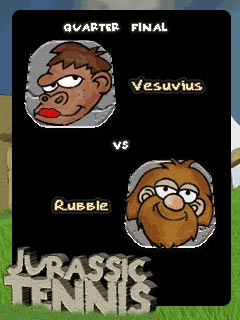 Download free game for mobile phone: Jurassic Tennis - download mobile games for free.