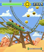 Mobile game Rollercoaster Rush 3D - screenshots. Gameplay Rollercoaster Rush 3D.