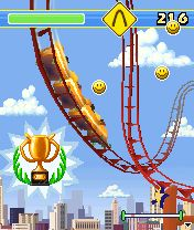 Download free mobile game: Rollercoaster Rush 3D - download free games for mobile phone.