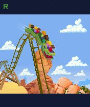 Download free game for mobile phone: Rollercoaster Rush 3D - download mobile games for free.