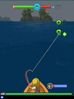 Jeu mobile La Légende de la Pêche - captures d'écran. Gameplay Fishing Legend.