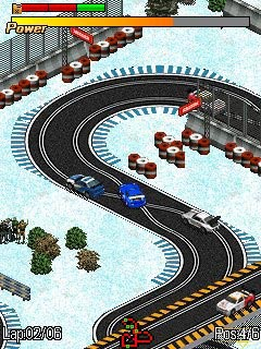 Download free mobile game: Scalextric GT (SCX GT) - download free games for mobile phone.