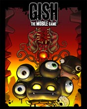 Скриншот java игры Gish. The Mobile Game. Игровой процесс.