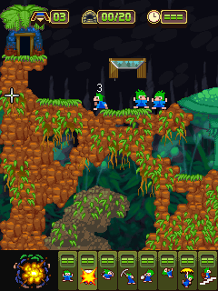 Download free mobile game: Lemmings 2: The Tribes - download free games for mobile phone.