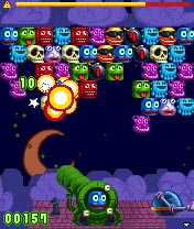 Download free mobile game: Snood Blaster - download free games for mobile phone.