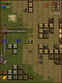 Download free game for mobile phone: Tanchiki (Tanks) - download mobile games for free.
