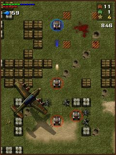 Jeu mobile Chars  - captures d'écran. Gameplay Tanchiki (Tanks).