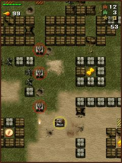 Download free mobile game: Tanchiki (Tanks) - download free games for mobile phone.