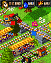 Download free mobile game: My Model Train - download free games for mobile phone.