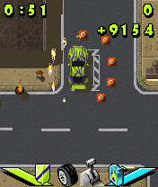 Jeu mobile Garre ta Voiture ou Meurs - captures d'écran. Gameplay Park or Die.