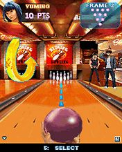 Download free mobile game: Midnight Bowling 2 - download free games for mobile phone.