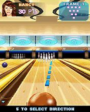 Download free game for mobile phone: Midnight Bowling 2 - download mobile games for free.