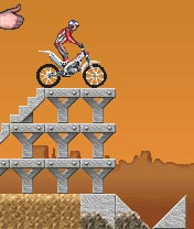 Download free mobile game: Dougie Lampkin's trial challenge - download free games for mobile phone.