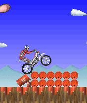 Download free game for mobile phone: Dougie Lampkin's trial challenge - download mobile games for free.