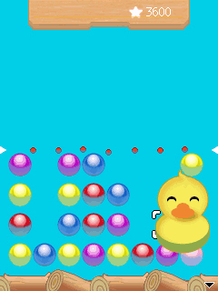 Скриншот java игры Bubble Ducky 3 in 1. Игровой процесс.