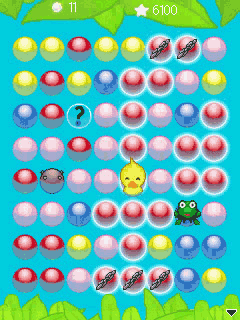 Jeu mobile Le Canardeau-Boule 3 en 1 - captures d'écran. Gameplay Bubble Ducky 3 in 1.