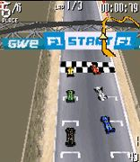 Andretti Racing 3D手机游戏- 截图。Andretti Racing 3D游戏。