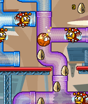 Jeu mobile Le Hamster Loco - captures d'écran. Gameplay Hamster Loco.