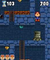 Download free game for mobile phone: Marv The Miner 2 - download mobile games for free.