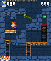 Mobile game Marv The Miner 2 - screenshots. Gameplay Marv The Miner 2.