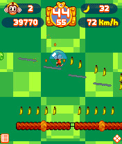 Jeu mobile Le Super Singe - captures d'écran. Gameplay Super Monkey Ball Tip \'n Tilt.