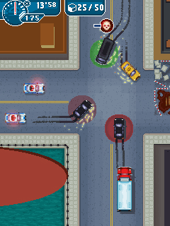 Mobil-Spiel Mafiakriege ™ New York - Screenshots. Spielszene Mafia Wars™ New York.