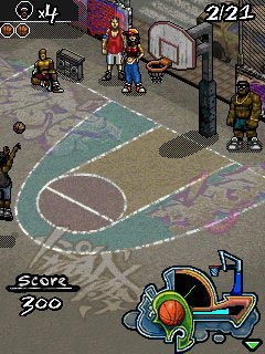 Street Basketball: Challenge - java game for mobile ...