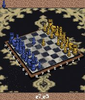 Jeu mobile Les Echecs avec Karpov 3D - captures d'écran. Gameplay Advanced Karpov 3D Chess.