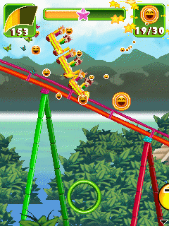 Download free mobile game: Rollercoaster Revolution 99 Tracks - download free games for mobile phone.