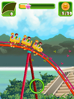 Download free game for mobile phone: Rollercoaster Revolution 99 Tracks - download mobile games for free.
