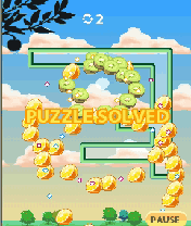 Mobile game Super Fruitfall - screenshots. Gameplay Super Fruitfall.