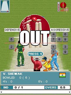 Mobile game Ishant Sharma\'s Cricket Fever - screenshots. Gameplay Ishant Sharma\'s Cricket Fever.