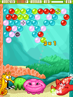 Download free game for mobile phone: Bublex Mania - download mobile games for free.